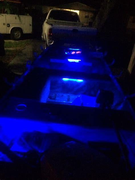boat lights interior jon boat led interior lights off ebay codys jon boat