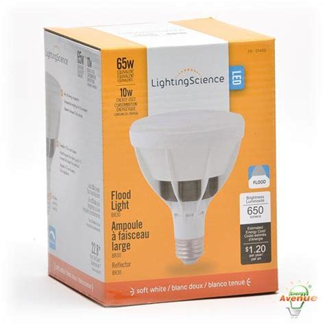 Science Ls by Lighting Science Ls Br30 65we W27 120 Dg Dimmable