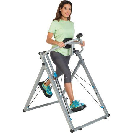 progear freedom 48 quot stride air walker elliptical ls1 with pulse monitor walmart