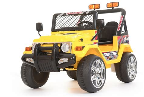 little jeep for kids 12v yellow two seater off road kids electric jeep 163 169