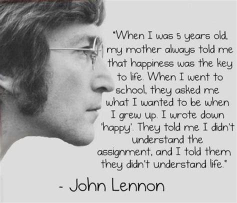 john lennon quick biography happiness john lennon quotes quote addicts
