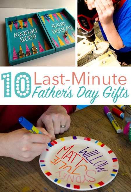 Last Minute Fathers Day Gifts To Make