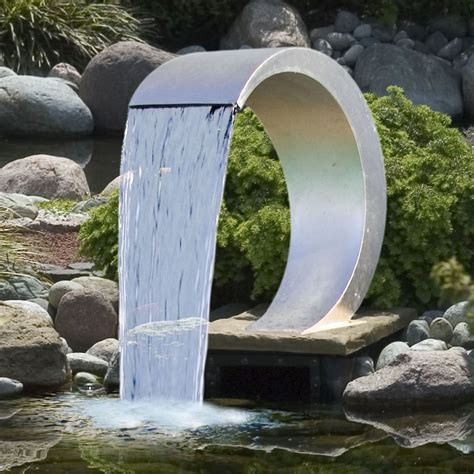 Fontaine Jardin Zen 237 by Fontanna Wodna Ze Stali Nierdzewnej Ubbink Mamba Sklep