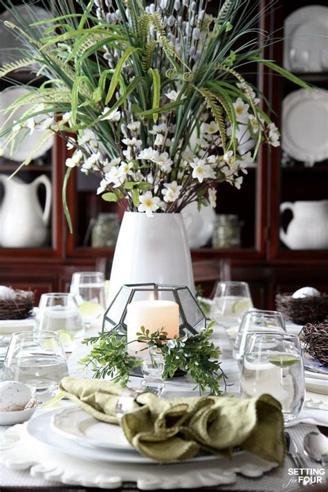 beautiful tables beautiful natural table setting for spring beautiful