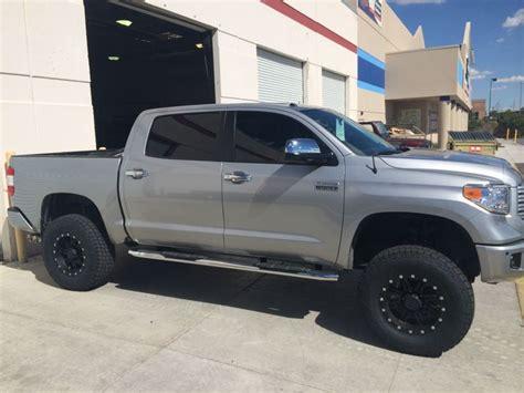 tundra platinum pro comp  lift   nittos   wheels doomsday tundra