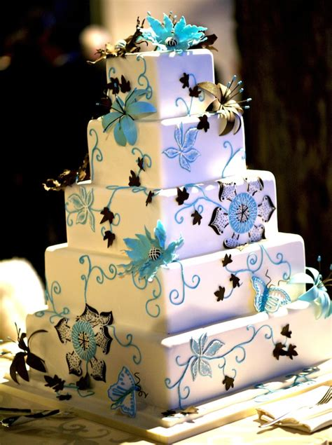 hochzeitstorte viereckig square wedding cakes cake ideas inside weddings