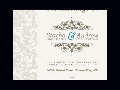 Invitation Letter Design For Wedding 50 Exles Of Wonderfully Designed Wedding Invitations Design Shack
