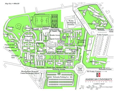 washington dc universities map wccie student research conference education for