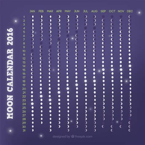 Calendrier Lunaire 2016 Gratuit Violet Calendrier Lunaire 2016 T 233 L 233 Charger Des Vecteurs