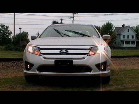 2012 ford fusion light 2012 ford fusion fog lights 2012 ford fusion
