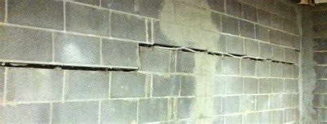 basement wall repair bowing basement walls