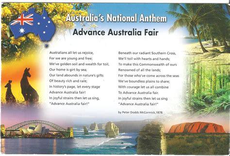 australian sog the australian national anthem a user s guide nomdeprune