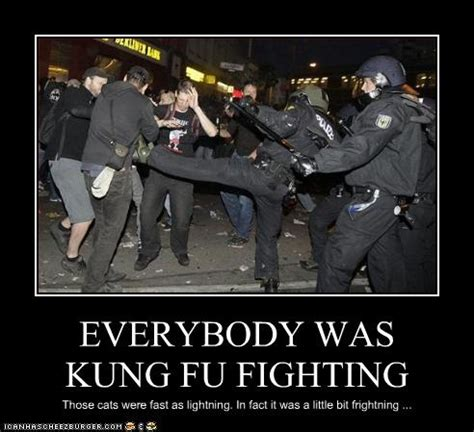 Everybody Was Kung Fu Fighting by Everybody Was Kung Fu Fighting Teh Lulz