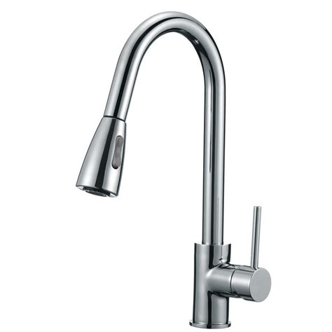 kitchen faucet chrome single handle pull sprayer kitchen faucet with soap
