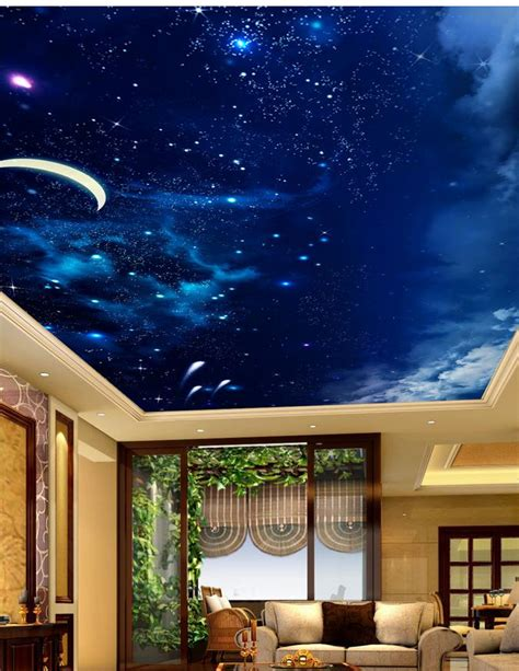 Compare Prices On Ceiling Night Sky Online Shopping Buy Sky Ceiling Wallpaper