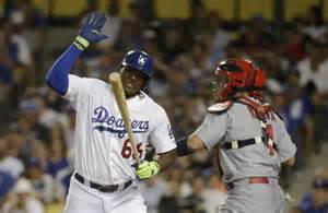 puig benched dodgers yasiel puig benched for nlds game 4 ny daily news
