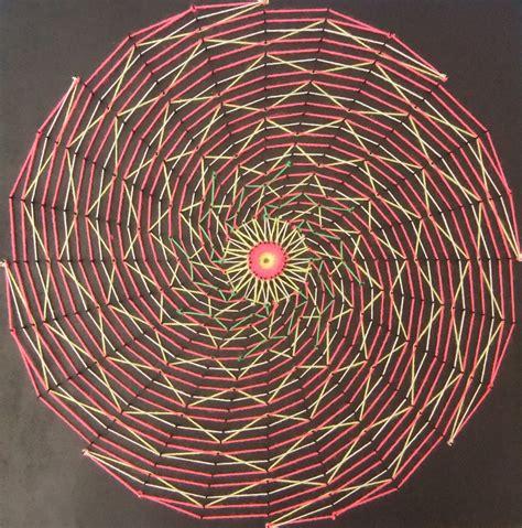 Spiral String - spiral blacklight stringart by string on deviantart