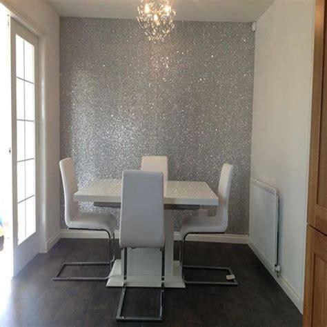 hotel wallpaper decoration glitter wallpaper supplier china free 10m one roll 138cm width home decor wallpaper silver