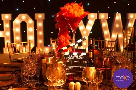 hollywood themed party uk hollywood table set up hollywood themed party www