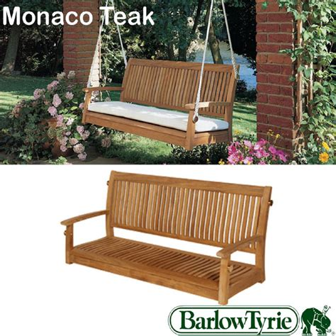 teak swing seat barlow tyrie monaco 150cm teak swing seat birstall