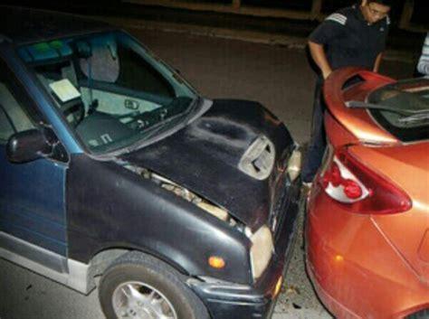 Cermin Tingkap Vios rezab tanah adat samun langgar belakang kereta