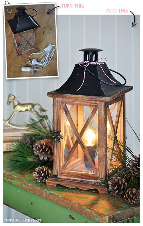 the painted hive easy diy lantern l