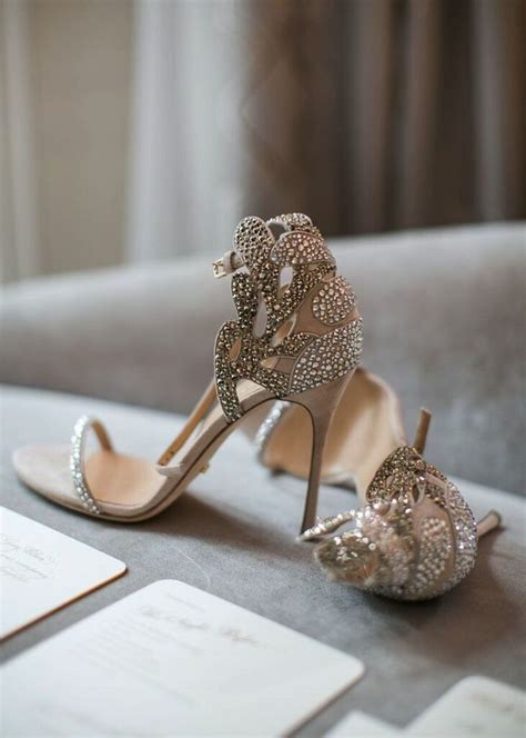 Silver Bridal Heels by Trending Bridal Shoes 2017 Wedding High Heels Shoes For