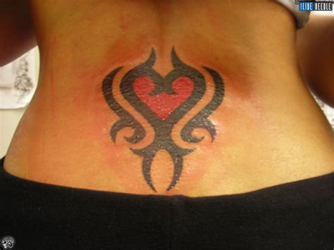 female lower back tattoos lower back tribal designs for