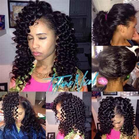 versatile sew in atlanta vixen sew in curly hair short curly hair