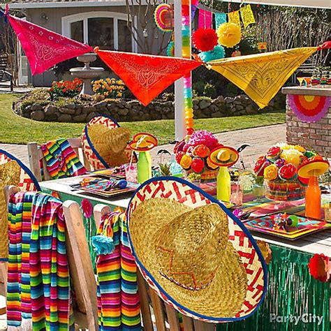 Mexican Themed Decorations by Cinco De Mayo Ideas Cinco De Mayo Decoration Ideas