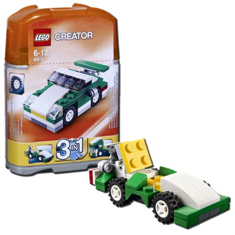 lego creator 3 in 1 mini sports car brand new in factory sealed package 6910 5702014829398