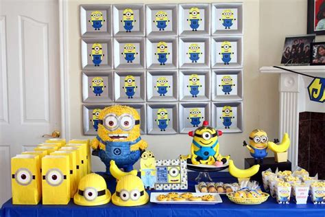 Beach Theme Bathroom Ideas by Planning A Fun Party With Your Minions 10 Adorable Diy