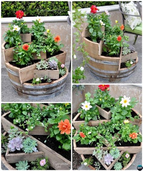 Recycled Planters Diy by 20 Diy Upcycled Container Gardening Planters Projects