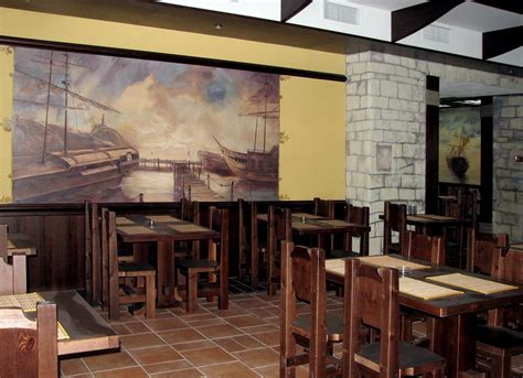 restaurant wall murals ideas for interior wall decoration in the designing of