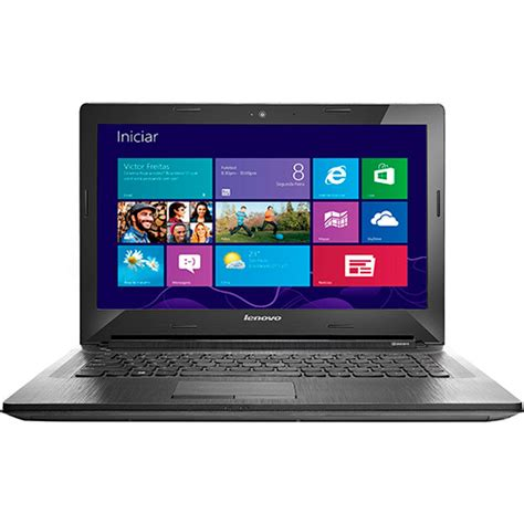 Notebook Lenovo G40 Intel I3 4gb 500gb notebook lenovo g40 70 intel i3 4gb 500gb led 14 quot prata windows 8 1 shoptime