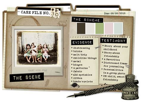 detective case file template www pixshark com images