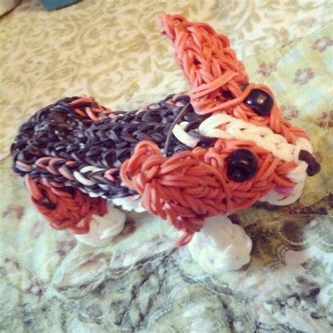 banding pattern en francais my big corgi dog rainbow loom rainbow loom pinterest