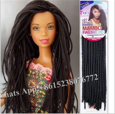 crochet hair braids braiding hair 2x faux locs braid 18 by amy aliexpress com buy 2x mambo faux locs 14 quot janet