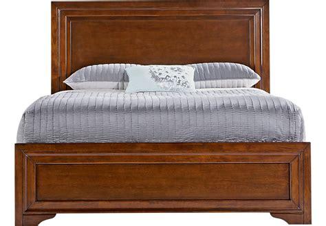 what is a panel bed belcourt cherry 3 pc queen panel bed beds dark wood