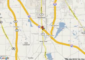 Lima Ohio Map by Map Of Quality Inn North Lima North Lima