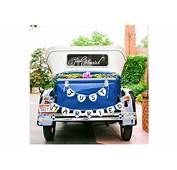 Top 10 Best Just Married Wedding Car Decorations  Heavycom