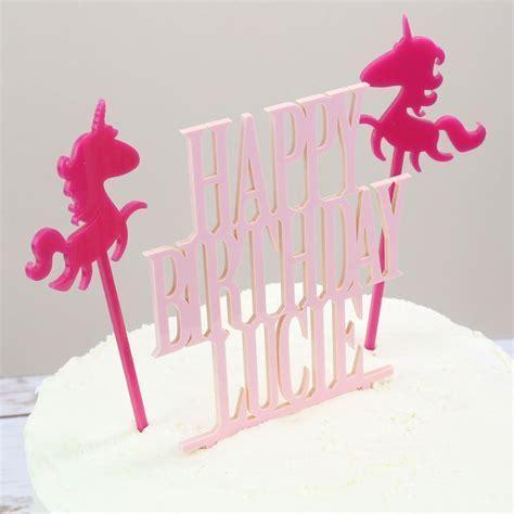Unicorn Cake Topper   Prezzely