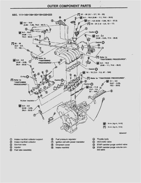 online service manuals 1999 nissan quest electronic valve timing nissan altima engine diagram car wiring intake manifold in experience photoshot including d 16 z