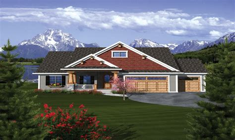 craftsman ranch craftsman ranch house plans with 3 car garage craftsman