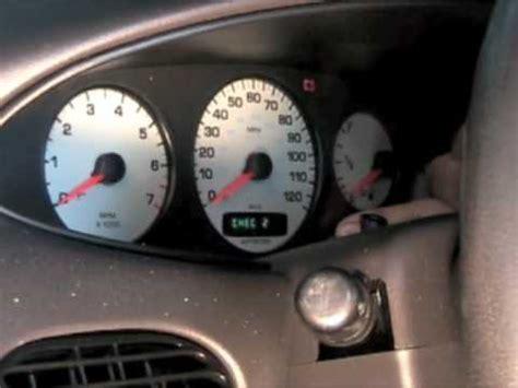 how petrol cars work 1993 dodge caravan instrument cluster speedometer reset procedure youtube