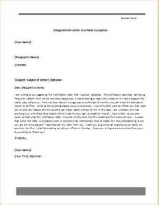 disagreement letter templates for ms word document templates