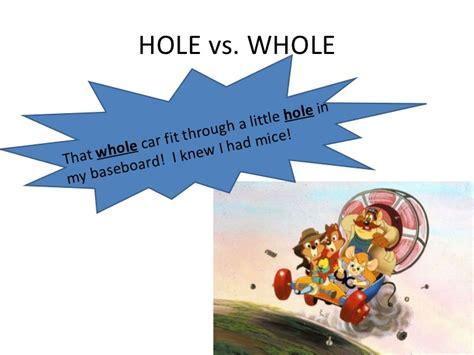 i m in the hole and it s wet in here the life and homophones powerpoint
