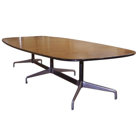 Herman Miller Meeting Table Midcentury Retro Style Modern Architectural Vintage Furniture From Metroretro And Mcm Consignment