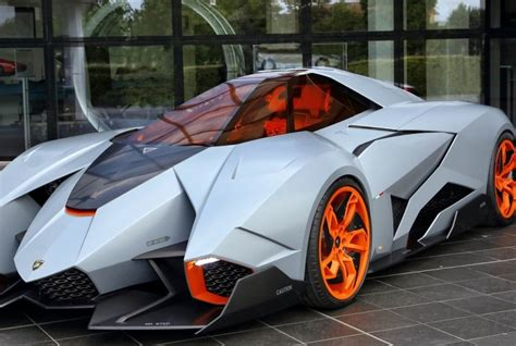 One Seater Lamborghini Lamborghini Single Seat Concept Car Named