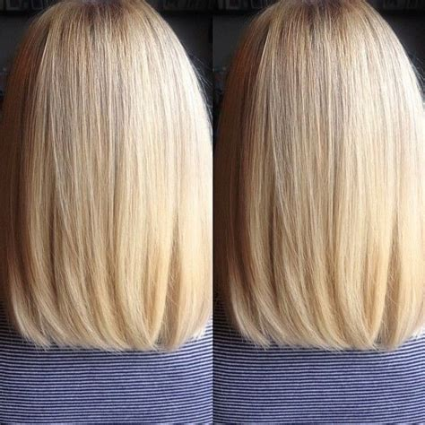 rear view of long blunt bob 10 women s long bob hairstyles for 2016